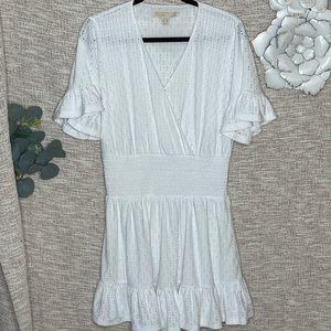 [Michael Kors] Flirty Eyelet Crochet Summer Dress